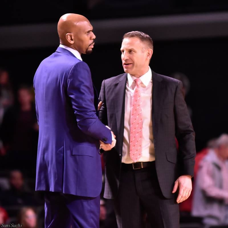 Jerry Stackhouse (L) and Nate Oats (R)