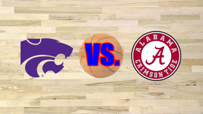 Kansas State and Alabama logos