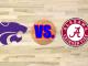 Kansas State and Alabama logos