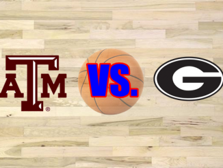 Georgia and Texas A&M logos