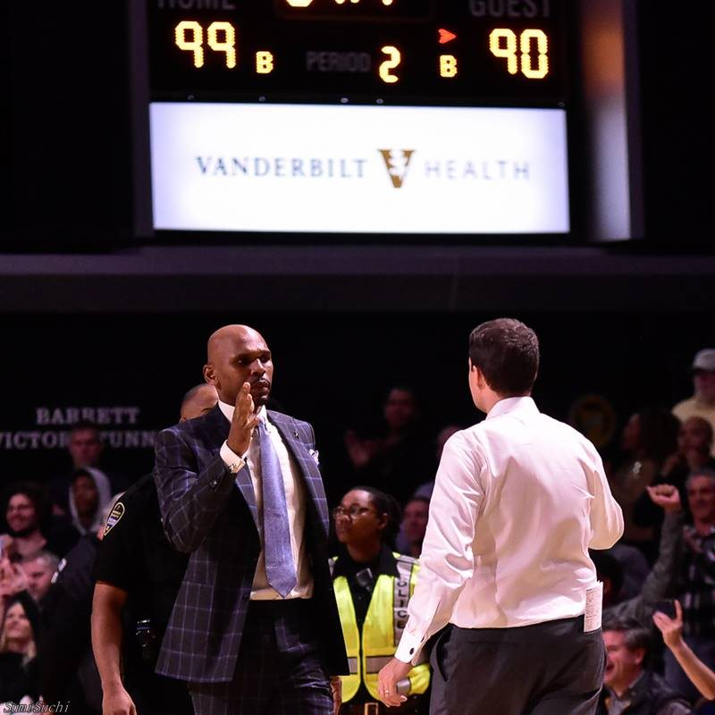 Jerry Stackhouse (L) and Will Wade (R)