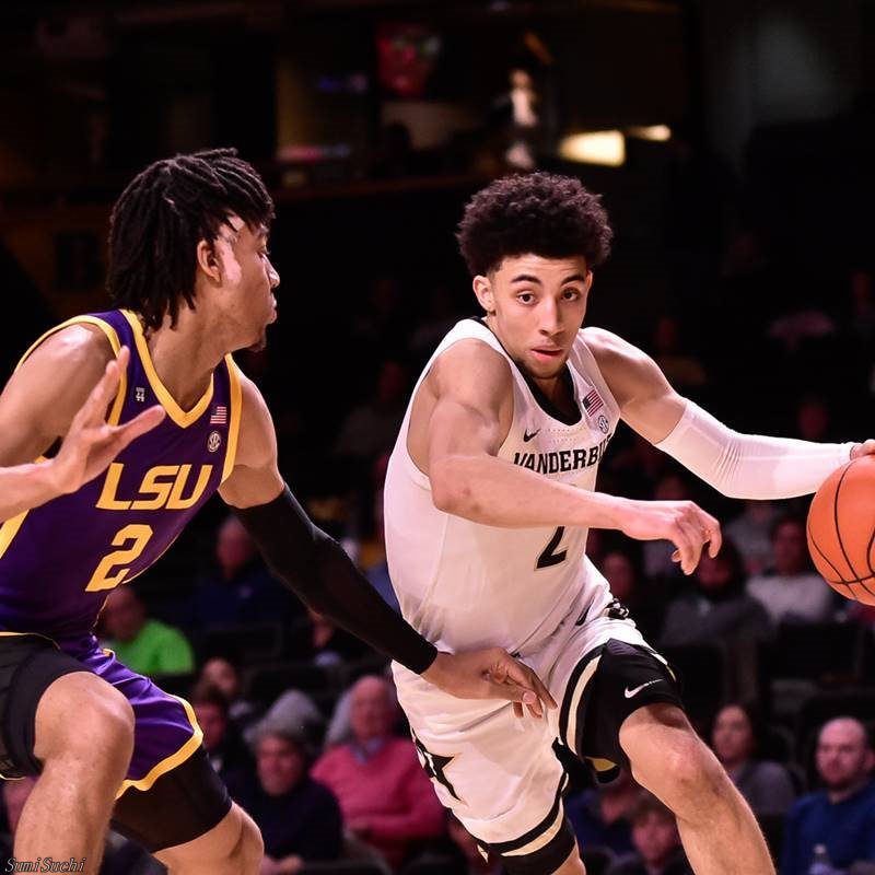 Trendon Watford (L) and Scotty Pippen Jr. (R)