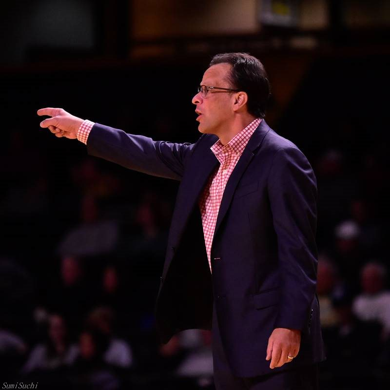 Head coach Tom Crean of Georgia