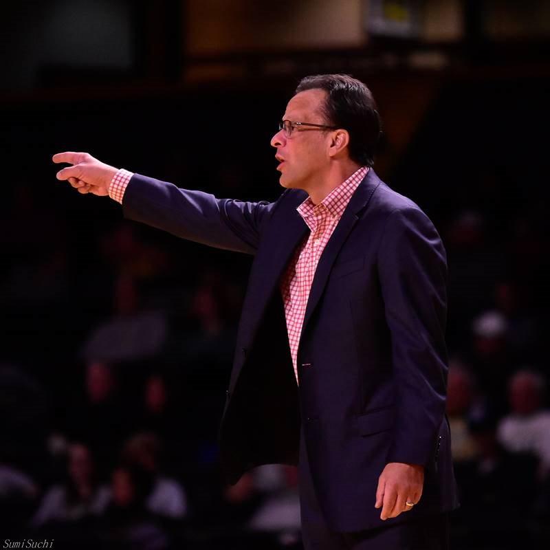 Head coach Tom Crean of Georgia