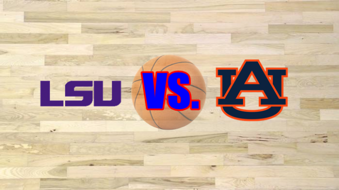 LSU and Auburn logos