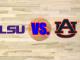 LSU and Auburn logos