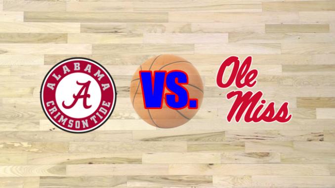 Ole Miss and Alabama logos
