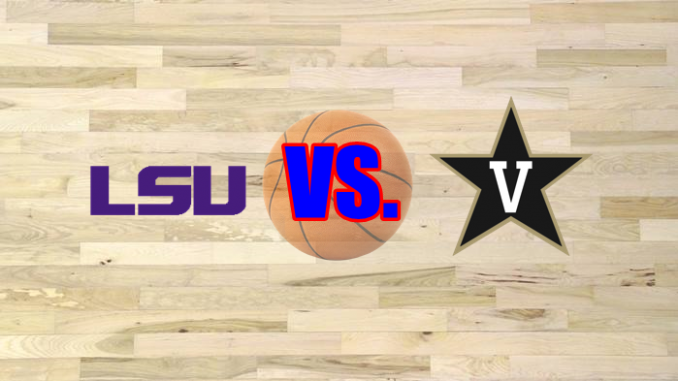 LSU and Vanderbilt logos