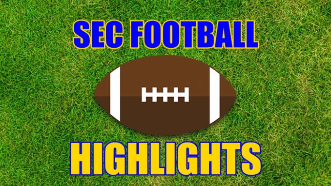 SEC Football Highlights