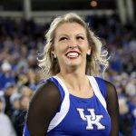 Kentucky cheerleader smiles