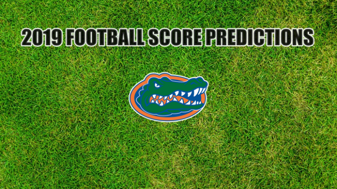 Florida logo on grass