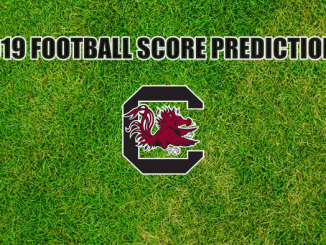 South Carolina logo on grass