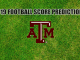 Texas A&M Logo on grass