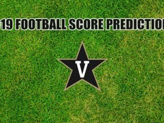 Vanderbilt logo on grass