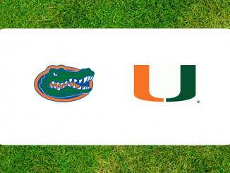 Florida and Miami logo