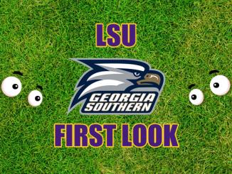 Eyes on Georgia Southern logo