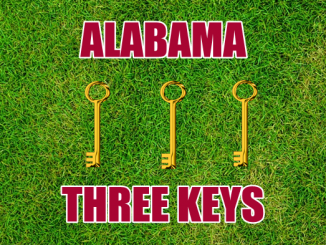 Alabama football Three-keys
