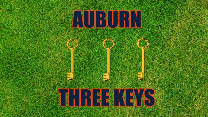 Auburn football three keys