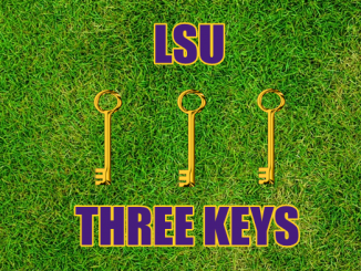LSU football Three keys