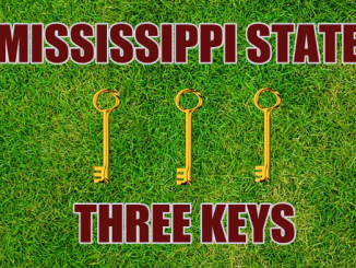 Mississippi State football Three keys