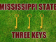 Three-keys Mississippi State