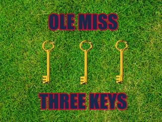 Three keys Ole Miss