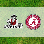 Alabama and New Mexico State logos