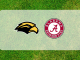Alabama and Southern Miss logos