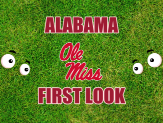 Eyes on Ole Miss logo