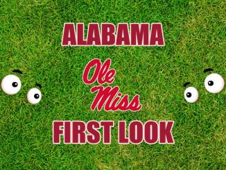 Eyes on Ole Miss logo