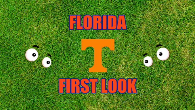 Florida football First-look Tennessee