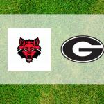 Georgia and Arkansas state logos