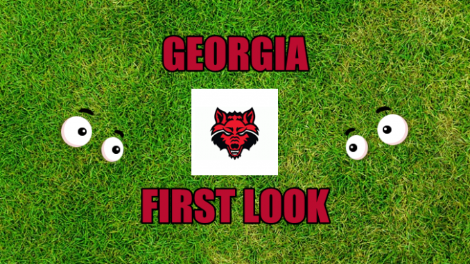 Eyes on Arkansas State logo