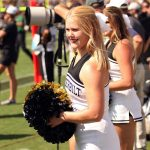 Vanderbilt cheerleader