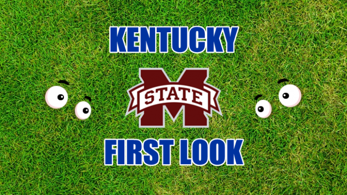 Kentucky First-look Mississippi State