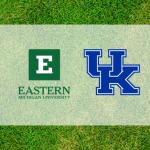 Kentucky and Eastern Michigan Logos