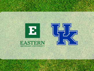 Kentucky and Eastern Michigan Logos