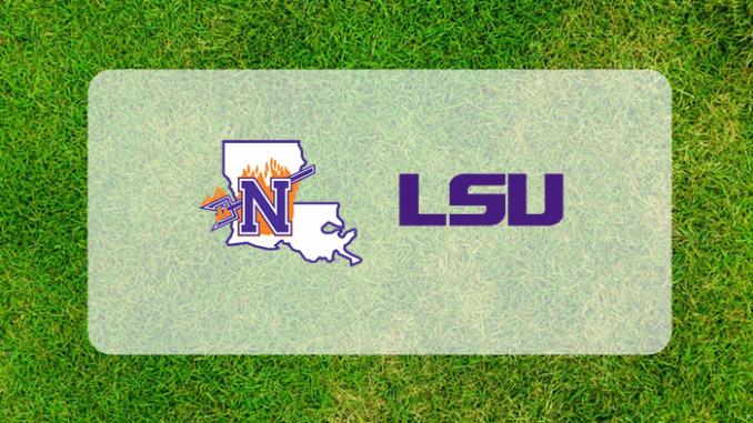 LSU and Northwestern State logos