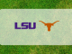 Texas and LSU logos