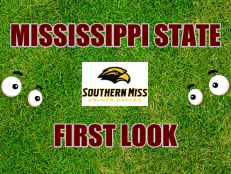 Eyes on Southern Miss logo