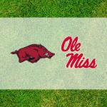 Ole Miss Arkansas logos