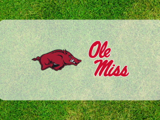 Ole Miss Arkansas logos