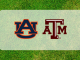 Auburn and Texas A&M logos