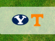 Tennessee and BYU logos