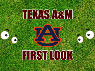 Texas AM football First-look-Auburn