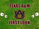 Texas AM football First-look-Auburn