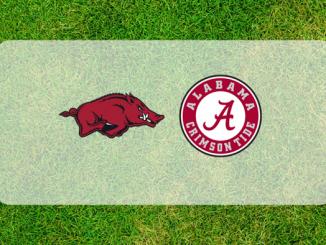 Alabama and Arkansas logos