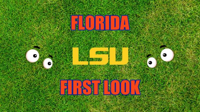 Eyes on LSU logo