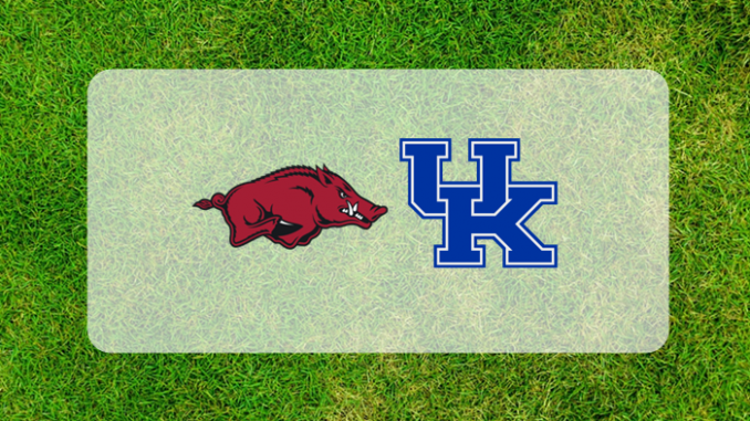 Kentucky and Arkansas logos