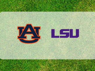 Auburn and LSU logos